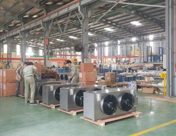 Một số hình ảnh hoạt động tại nhà máy sản xuất dàn Quang Thắng.