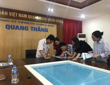 Công ty TNHH cơ điện lạnh Quang Thắng tiếp đối tác Hàn Quốc tham quan nhà máy sản xuất dàn nóng, dàn lạnh Quang Thắng & tấm panel cách nhiệt.